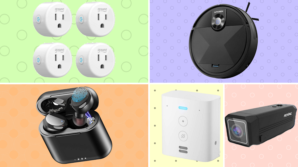 Score up to 60 percent off top-rated robovacs, wireless earbuds, action cams and more! (Photo: Amazon)