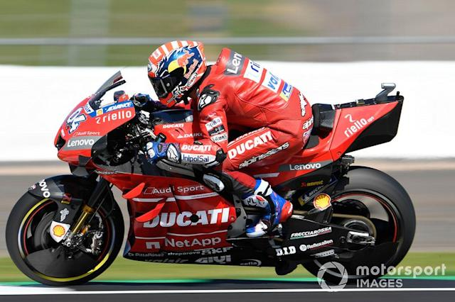 "Andrea Dovizioso, Ducati Team <span class=""copyright"">Gold and Goose / LAT Images</span>"