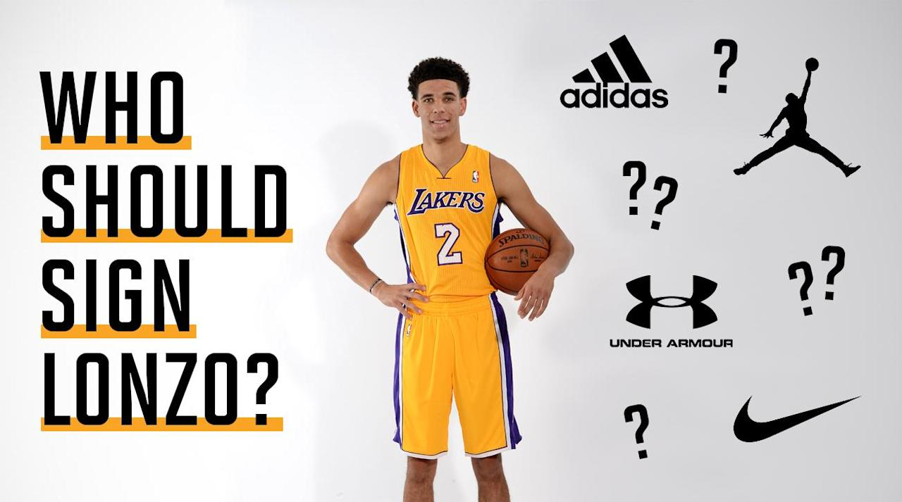 "<p>The Ball family just knows how to stay in the news cycle. After creating a social media frenzy with the announcement of his <a rel=""nofollow"" href=""https://www.si.com/nba/2017/05/04/lonzo-ball-shoes-big-baller-brand-zo2-cost-photos"">$495 signature sneaker</a>, the ZO2's under the Big Baller Brand, Lonzo Ball has put himself back on the market in hopes of receiving a traditional sneaker deal—which he also hopes will ignite a bidding war.</p><p>After wearing the Z02's the first two games of Summer League, Ball hooped in the Nike A.D., Adidas Harden Vol. 1 lifestyle model, Under Armour Curry 4 and the Air Jordan XXX1 low to finish off Summer League. ""At Big Baller Brand you know you got freedom, do whatever you want, and I'm showcasing that,"" he <a rel=""nofollow"" href=""https://www.youtube.com/watch?v=I0tMR1LQeWg"">told ESPN</a>.</p><p>LaVar Ball followed Lonzo's statement with a message of his own to ESPN's Darren Rovell. ""It's making a statement to the brands of what they could have had with an open mind,"" Ball told Rovell. ""The players are the brand ambassadors. The brand is nothing without the players.""</p><p>LaVar has always said from the beginning that they weren't looking for an endorsement deal but a co-branding partner. Think Nike and Michael Jordan but instead with an incoming rookie who has not played a single minute in the NBA.</p><p></p><p>Don't get it twisted, beyond the antics from his father, Lonzo Ball is a dream coup for a brand. He is a lot like a young Penny Hardaway. He is 6'6"", a box office hit, and is blessed with God-given passing abilities. He is also quiet with the media but can hold his own like Penny when it comes to commercials like this <a rel=""nofollow"" href=""https://www.youtube.com/watch?v=iPteUZfRrKw"">Foot Locker Father's Day spot</a>.</p><p>There are many factors why Lonzo may be pursuing a shoe deal outside the house that LaVar built. Maybe the ZO2's did not perform well on the court. Maybe the Ball family did not get that much love in the sales department.</p><p>If Lonzo does land a deal outside of BBB, this may turn out to be one of the biggest sneaker comeups in history or simply just plain dumb. I broke down how Lonzo may fit with some of marquee brands down below.</p><p></p><p></p><h3><strong>Nike</strong></h3><p></p><p>This seems like a long shot. Once you burn a bridge with the Swoosh, I am not sure there is a return. Back in April, Nike global basketball sports marketing director, George Raveling, <a rel=""nofollow"" href=""https://www.si.com/nba/2017/04/21/lavar-ball-big-baller-brand-george-raveling-nike-comments"">made headlines</a> after saying LaVar Ball is the ""Worst thing to happen to basketball in the last hundred years."" LaVar quickly responded through TMZ and said, ""I know I'm on the right step, 'cause if nothing like this happened in 100 years?"" ""Guess what—we in a new lane, baby!"" He added, ""Big Baller Brand about to be your competition.""</p><p>That last line might have pulled the plug on any future deal with Nike. Nike's founder Phil Knight said the brand had <a rel=""nofollow"" href=""https://www.usatoday.com/story/sports/ncaab/2017/04/02/nike-co-founder-phil-knight-lonzo-ball/99928330/"">interest in Lonzo</a>, but $1 billion seems a bit steep. To be clear, Nike does not need Lonzo and will be fine without him because they have basketball's best sneaker roster, with LeBron James, Kevin Durant, Kyrie Irving and Paul George. I'm not sure where there is a fit with the Swoosh for Lonzo.</p><p>One thing to note is that Lonzo did have his best Summer League game while wearing a pair of Kobe's. Que the <a rel=""nofollow"" href=""https://www.instagram.com/p/BWeUr6dB2pG/"">petty LeBron Instagram post</a>.</p><p></p><p></p><h3><strong>Adidas</strong></h3><p></p><p>A partnership with Adidas would feel like a more natural fit, since the brand has an outstanding youth movement and a <a rel=""nofollow"" href=""https://www.youtube.com/watch?v=lsBdaaRe2BA"">campaign dedicated </a>to athletes who are outside the box. Lonzo wore Adidas in high school at Chino Hills and during his one season at UCLA, so maybe there is a chance that he can open up that dialogue and try to work out a deal.</p><p>Having Lonzo alongside James Harden, Damian Lillard and other young prospects like Andrew Wiggins, Kristaps Porzingis and Joel Embiid would create a fun group. But with Lonzo comes the package deal. Does Adidas want to shell out more money for Lonzo while also having to deal with LaVar and his two other sons, LiAngelo and LaMelo in the future?</p><p></p><p></p><h3><strong>Under Armour</strong></h3><p></p><p>Under Armour would be a great destination for Lonzo, with possibly more upside than the other brands because UA is still trying to find its identity in the NBA. There is not much after Stephen Curry and Lonzo could fit right in and grow under his wing. UA took a big gamble with Steph and it paid off for them, and they need to take the same approach with a young prospect if they want to compete in the long run.</p><p>The brand recently signed Phoenix Suns rookie Josh Jackson but he is not as marketable as Lonzo, who plays point guard for the most entertaining franchise in NBA history. While the Lakers may not good, all eyes will be on Lonzo and his sneakers, whether they win 50 games or 10 this upcoming season.</p><p></p><p>Another link will be UA's founder, Kevin Plank, who understands what it is like to start his own brand from his parking garage. Plank has taken UA to impossible heights and can give Lonzo his own space to operate and grow within the brand. He comes from a similar background and might be prepared to deal with LaVar's antics. </p><p>It is also a good sign that Curry sent Lonzo a pair of Curry 4's to rock during Summer League. The sneakers don't release until the fall, so there might have been some kind of dialogue there between the brand and the Ball family. So maybe Steph let LaVar slide with the comments about Lonzo being better than him.</p><p></p><h3><strong>Li-Ning/Anta/Peak</strong></h3><p></p><p>International brands have always been lenient when it comes to handing out signature sneakers to average players like Delly and George Hill. So having one of the best point guard prospects will cause some interests. Unless one of these brands cave in and offer millions of dollars, Lonzo is best staying put to build his own brand. He has already surpassed each brands popularity in the United States in terms of footwear. If such a deal takes place you can bet that they will give the BBB free reign to do whatever they want in terms of licensing and product.</p><p></p><p></p><h3>Bonus: Big Baller Brand is forever</h3><p></p><p>I personally don't think Lonzo will sign with any brand this upcoming season unless something crazy happening to a Z02 during a game. Despite not playing in his sneakers majority of Summer League, his sneaker fling caused major attention and hate from some athletes like <a rel=""nofollow"" href=""https://twitter.com/JJWatt/status/885626793306329088"">JJ Watt</a> and <a rel=""nofollow"" href=""https://twitter.com/De11eDonne/status/883485787505008640?ref_src=twsrc%5Etfw&ref_url=https%3A%2F%2Fsneakernews.com%2F2017%2F07%2F08%2Felena-delle-donne-lonzo-ball-big-baller-brand%2F"">Elena Delle Donne</a>. Maybe this is one big marketing ploy from the mind of LaVar and we all fell for it... again.</p>"