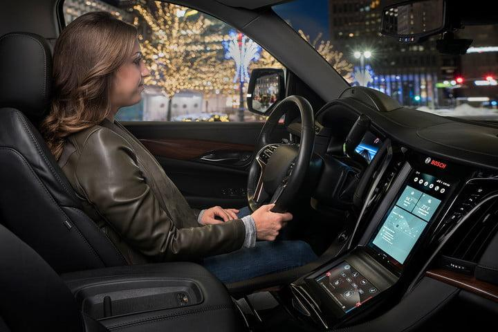 bosch virtual cockpit drving