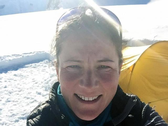 Emma Kelty had gone on previous adventures, including a solo skip trip in the South Pole (PA)
