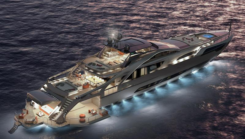 Sizzling Pershing 140 Superyacht Has Sold
