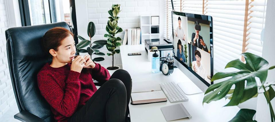 Here's the trick to getting a tricked-out home office on a budget