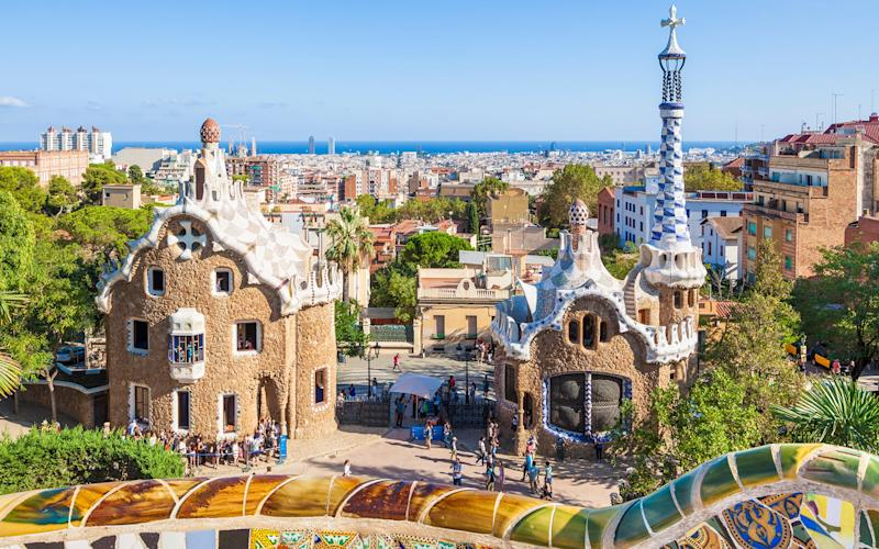 Barcelona is a colourful city that delights at every turn, with whimsical architecture, human pyramids and exciting restaurants - This content is subject to copyright.