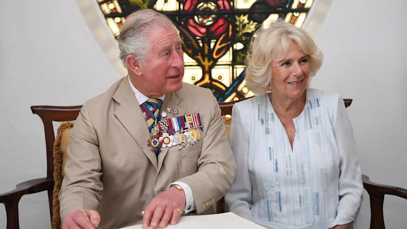 Paparazzi photos of Charles and Camilla published online