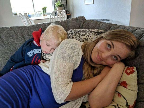PHOTO: Kathleen Thorson, 34, a mother of four, died suddenly just days after giving birth and 12 of her organs were donated. Kathleen and Jesse Thorson of Medford, Oregon, are parents to Danny, 7, Gracie, 6, James, 4 and Teddy, 3 weeks. (Jesse Thorson)