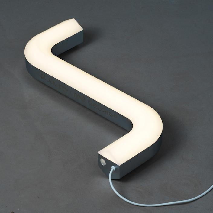 It also made an LED table lamp ($50), which illuminates the tiny, useful object.