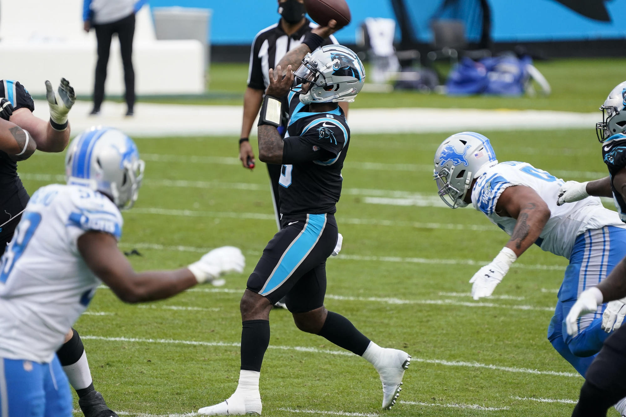 The spare Panthers QB PJ Walker is ranked at the bottom of the 2020 starter according to NFL.com