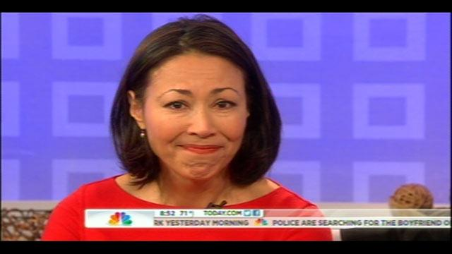Ann Curry Says Tearful Goodbye to 'Today'