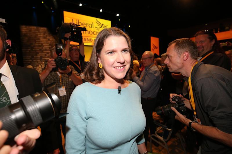 <strong>Liberal Democrat leader Jo Swinson.</strong> (Photo: PA Wire/PA Images)