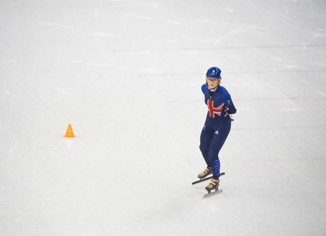 Elise Christie suffered disappointment again in the 1500m short track speed skating (Andy J Ryan/Team GB)