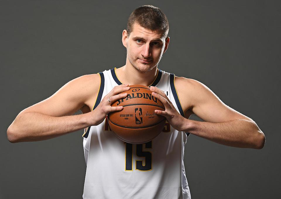 <p>The three-time All-Star normally plays center for the Denver Nuggets.</p>