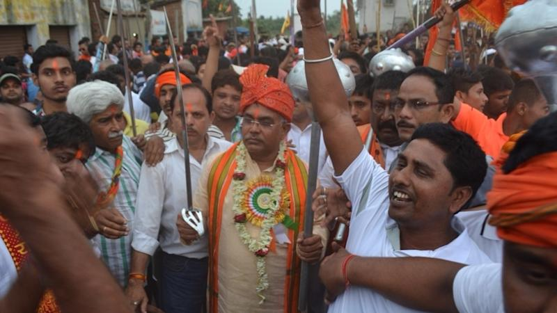 Kolkata: FIR Against BJP's Dilip Ghosh for Taking out Sword Rally