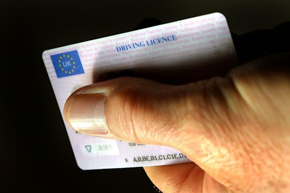 UK driving licence costs