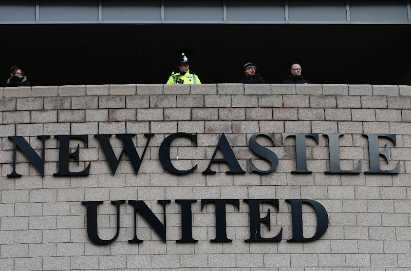 """Newcastle United said it would cooperate with an investigation into child sexual abuse within its club after an allegation by an unnamed former player """"if or when the club receives further information"""" (AFP Photo/Lindsey Parnaby)"""