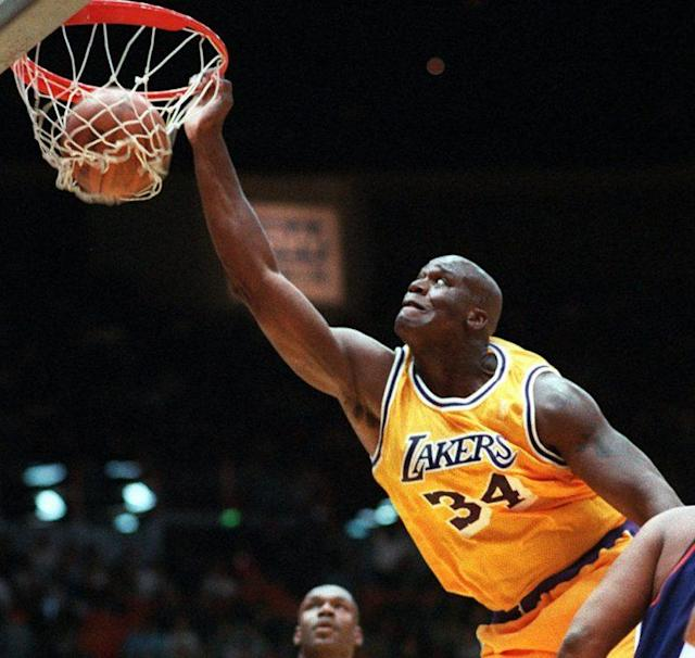 There was only one Shaquille O'Neal. (AP)