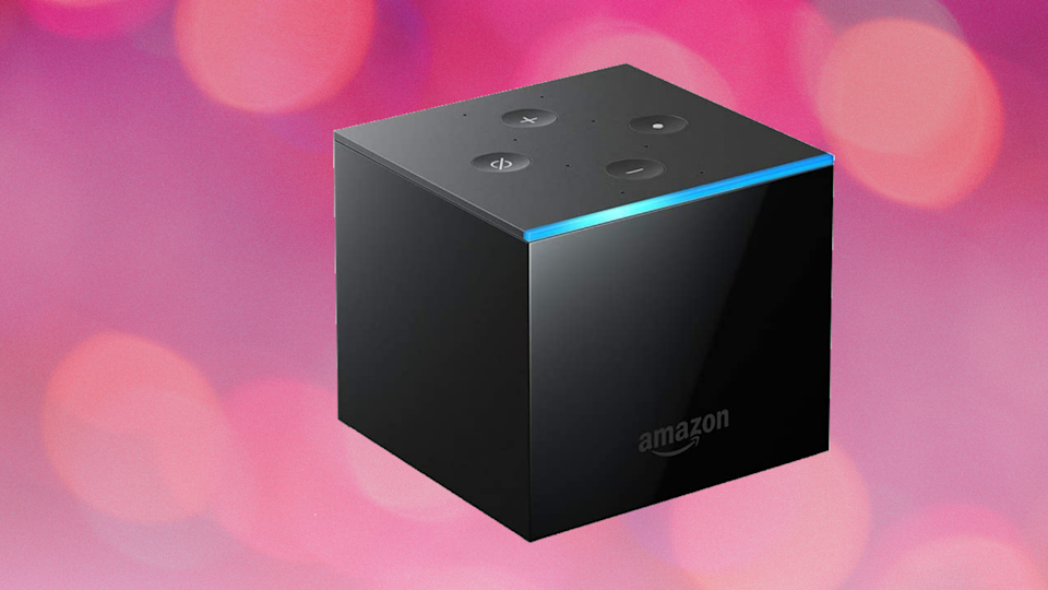 Don't be a square: Add another dimension to your streaming adventures with the Fire TV Cube. (Photo: Amazon)