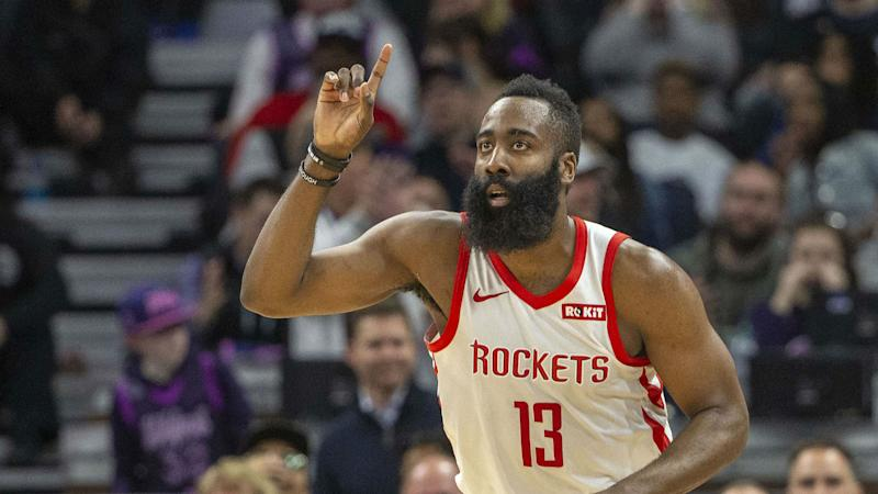 390d4381e68e NBA MVP odds  Rockets  James Harden is still the clear favorite