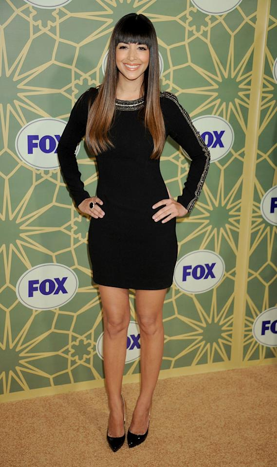 "<a href=""/hannah-simone/contributor/2150909"">Hannah Simone</a> (""<a href=""/new-girl/show/47384"">New Girl</a>"") attends the 2012 Fox Winter TCA All-Star Party at Castle Green on January 8, 2012 in Pasadena, California."