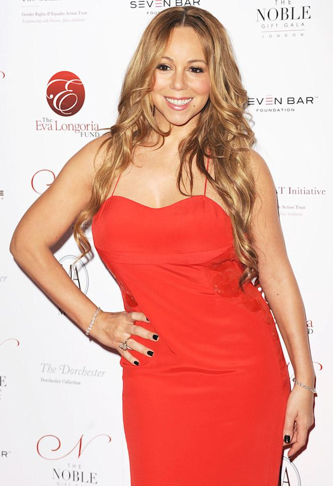 Mariah Carey turns 42 on March 27.