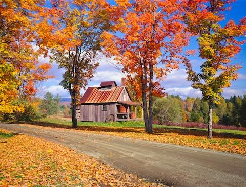 Head to Vermont after you've finished exploring the Big Apple - Credit: GETTY