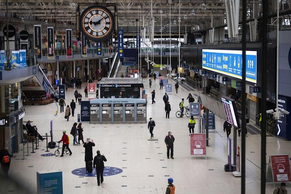 The pandemic has hit SSP hard as travellers stay away (Victoria Jones / PA) (PA Archive)