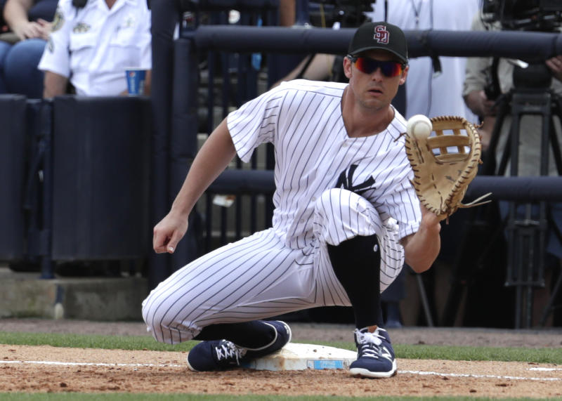 Yanks' Greg Bird needs ankle surgery again, out 6-8 weeks