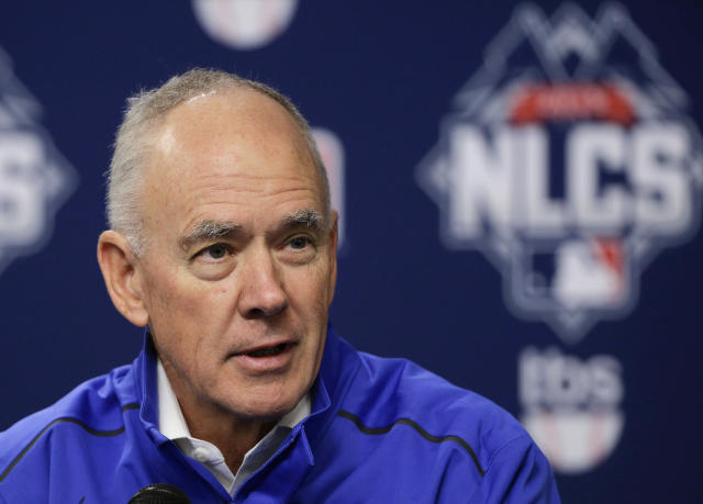 "<a class=""link rapid-noclick-resp"" href=""/mlb/teams/nym"" data-ylk=""slk:New York Mets"">New York Mets</a> GM Sandy Alderson is taking a leave of absence to prioritize his health, effective immediately. (AP Photo)"