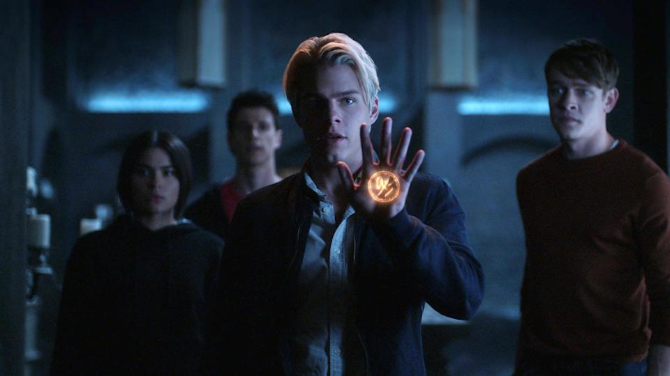 """<p>A secret society, werewolves, magic - <strong>The Order</strong> has all of that and so much more. Belgrave University student Jack Morton is on a mission to bring justice to those responsible for his mother's death, but when he joins the Hermetic Order of the Blue Rose, he finds himself in an ancient battle between werewolves and those who practice dark magic. </p> <p><a href=""""https://www.netflix.com/title/80238357"""" class=""""link rapid-noclick-resp"""" rel=""""nofollow noopener"""" target=""""_blank"""" data-ylk=""""slk:Watch The Order on Netflix now."""">Watch <strong>The Order</strong> on Netflix now.</a></p>"""