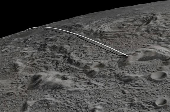 Moon Probes' Crash Site Named After Sally Ride