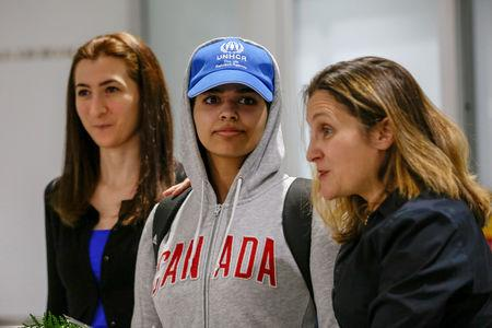 Saudi woman granted asylum in Canada to speak publicly