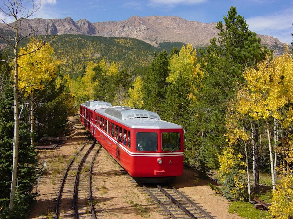 The world's highest cog railway is back, and moving better than ever.