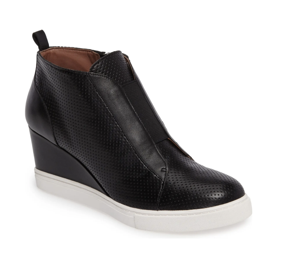 'Felicia' Wedge Sneaker - LINEA PAOLO, Nordstrom, from $48 (originally $120)