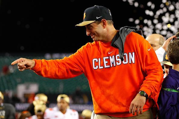 Clemson bet on itself entering 2016, and it saved the athletic department in a big way. (Getty)