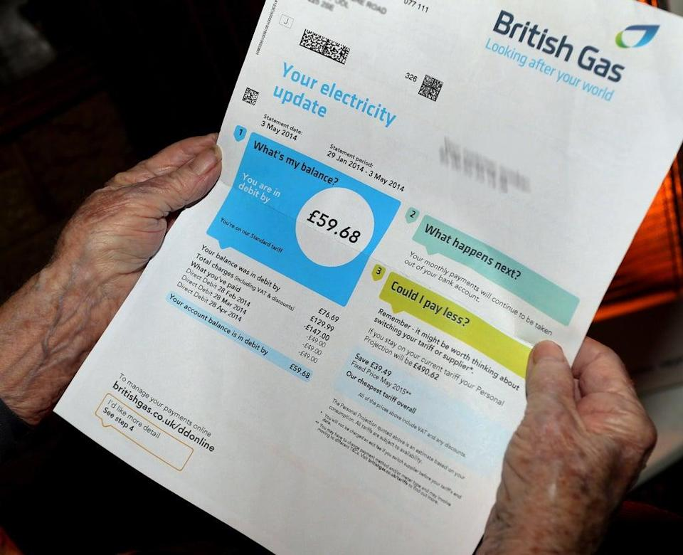 Rising energy prices are likely to put pressure on the budgets of low-income families, according to a think tank (Peter Byrne/PA) (PA Archive)
