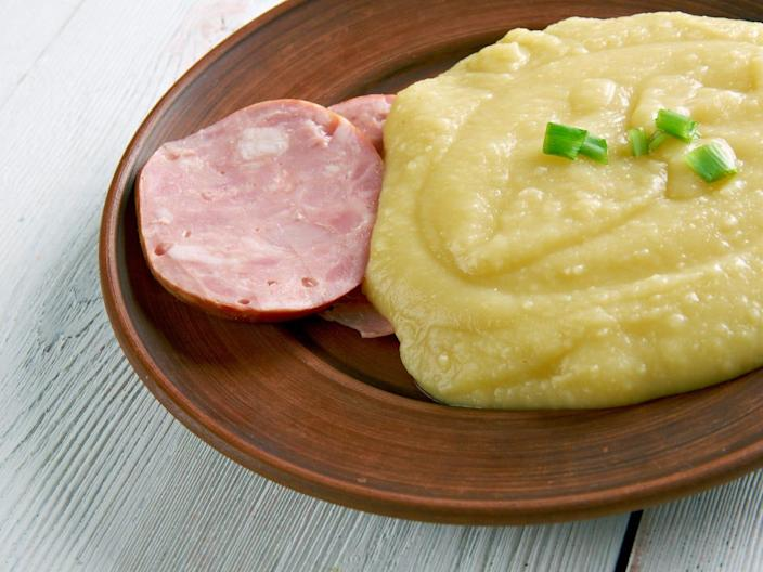 pease pudding with ham
