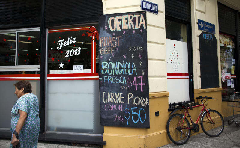 Government food price claims baffle Argentines
