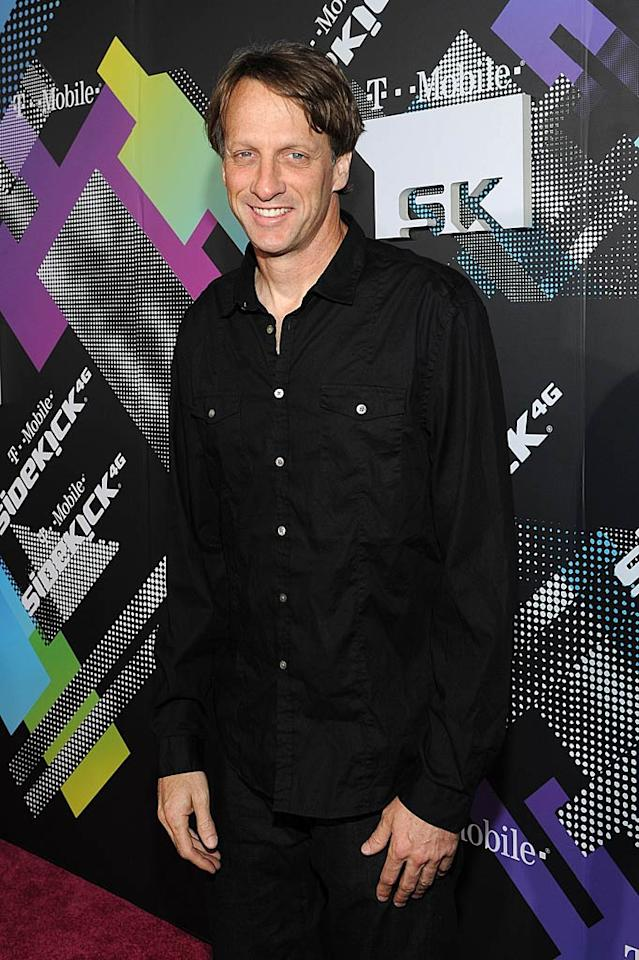 "Tony Hawk turns 43 Michael Buckner/<a href=""http://www.gettyimages.com/"" target=""new"">GettyImages.com</a> - April 20, 2011"