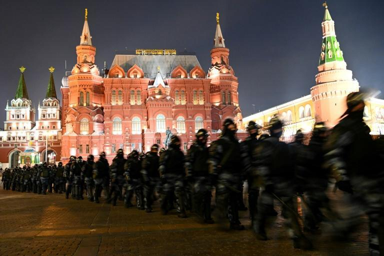 European countries sharply condemned Russia's crackdown on a wave of anti-Kremlin protests which saw 10,000 people detained