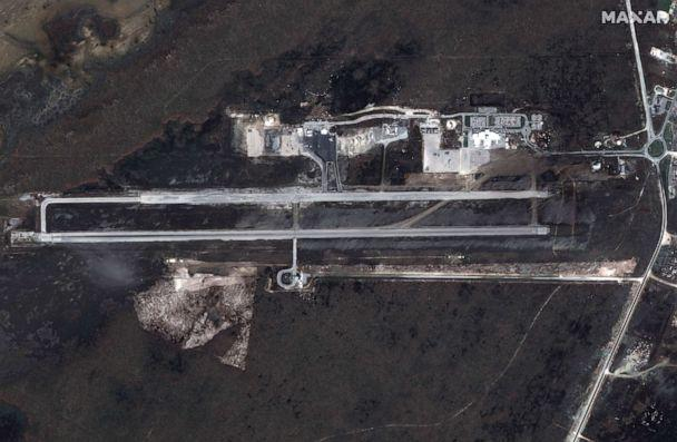 PHOTO: After: Leonard Thompson International Airport on Great Abaco Island after Hurricane Dorian swept through the Bahamas, in a satellite image taken Sept. 5, 2019. (Maxar Technologies via Reuters)