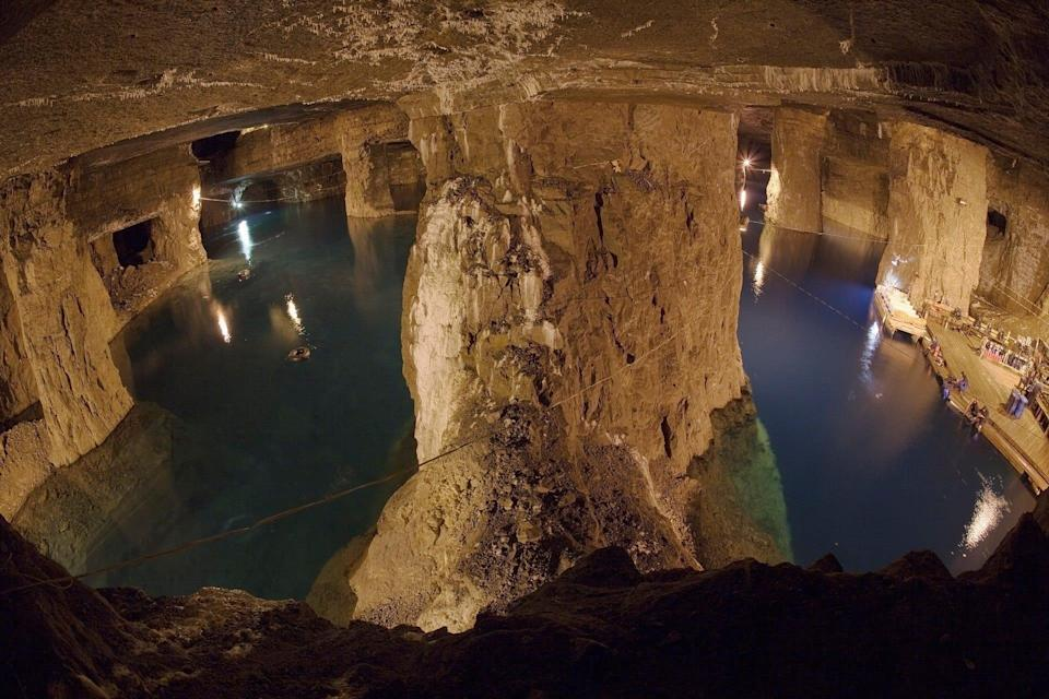 It may not be on the coast but Missouri's Bonne Terre Mine is still a bucket-list destination for divers, including the late legend Jacques Cousteau, who spent days filming there.