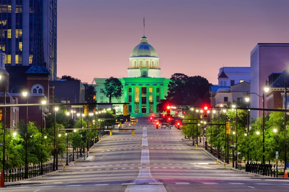 state capitol in montgomery alabama