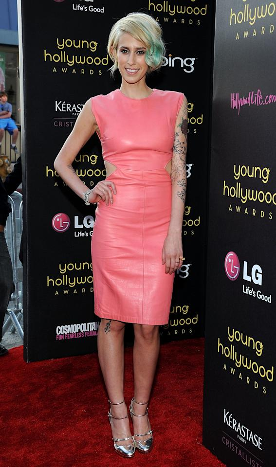 HOLLYWOOD, CA - JUNE 14:  Singer Devin Star Tailes arrives at the Young Hollywood Awards at Hollywood Athletic Club on June 14, 2012 in Hollywood, California.  (Photo by Valerie Macon/Getty Images)
