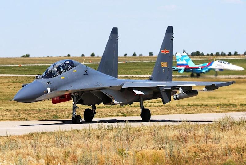 Chinese Fighter Jets Intercept US Military Aircraft Over East China Sea