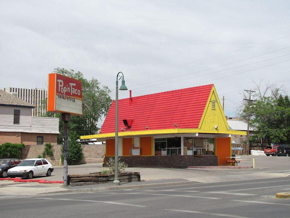<p>Hot dogs and tacos, what a combo! Pup 'N' Taco had a great idea when they founded the California-based joint in 1956. Come 1984, Taco Bell bought out 99 of the restaurants and in 2010 the final three Pup 'N' Taco outposts closed their doors—for good. </p>