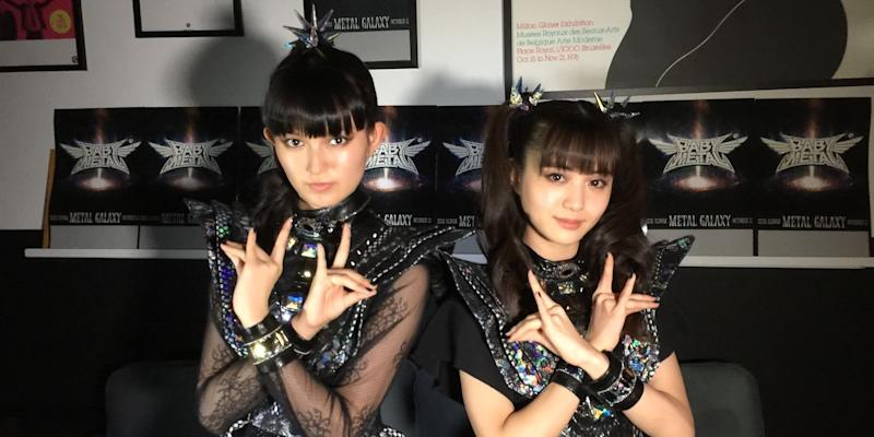 BABYMETAL are first Asian act to hit No. 1 on Billboard's Top Rock Albums chart
