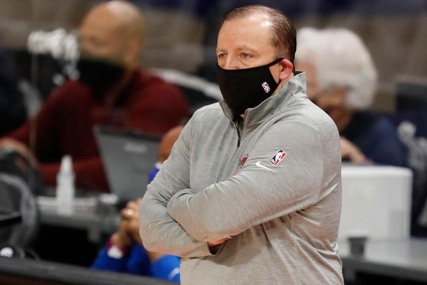 Tom Thibodeau preseason vs. Pistons