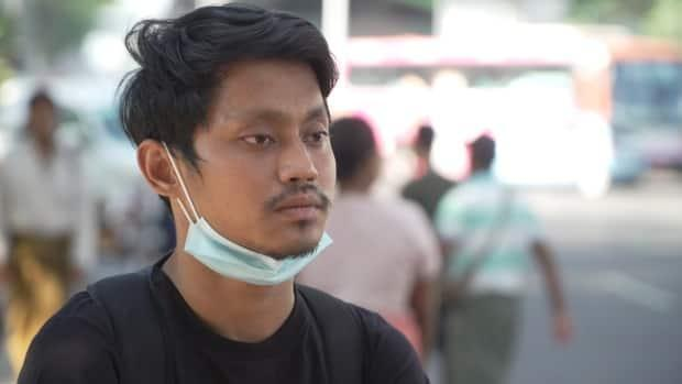 Nyi Nyi Nyang, 24, is a digital marketer, a job that didn't exist in Myanmar a decade ago. 'This dictatorship can destroy all our dreams,' he said.