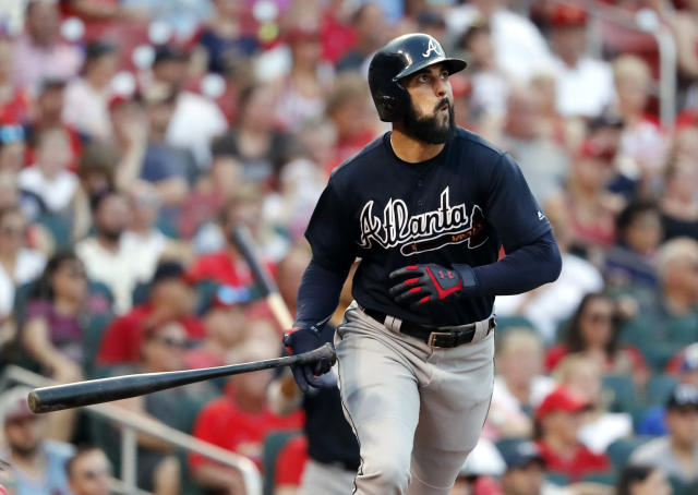 Nick Markakis' first-career All-Star nod is a long-time coming. (AP Photo)