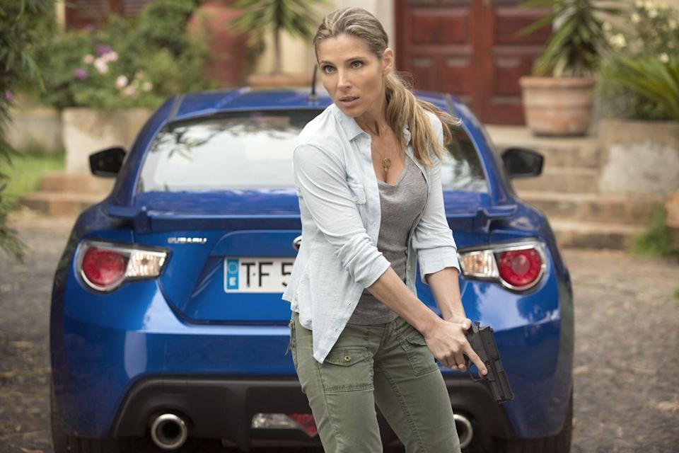 <p>Elsa Pataky debuted in the franchise in 2009's <em>Fast Five</em> as Elena Neves, a patrol officer in Rio de Janiero. The actress returned for three more of the sequels as her character is responsible for a bombshell twist when she becomes pregnant with Dom's baby. </p>